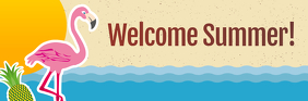 Welcome Summer Email Header