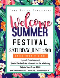 Welcome Summer Flyer
