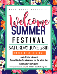 Welcome Summer Flyer