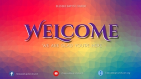 Welcome Template Digital Display (16:9)