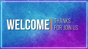 welcome thanks for join us