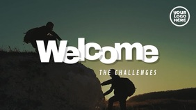 Welcome The Challenges Mountain Video