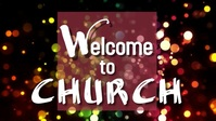 Welcome to Church Gambar Mini YouTube template