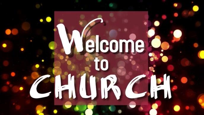 Welcome to Church Thumbnail sa YouTube template