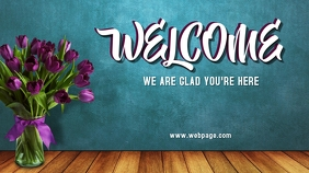 Welcome to Church Digital Display (16:9) template