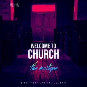 Welcome to Church Mixtape CD Cover
