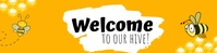Welcome to our hive Google Classroom Banner template