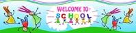 Welcome To School Happy Kids Google Class template