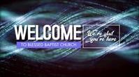 Welcome Video Ecrã digital (16:9) template