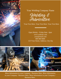 Welding Business Company Flyer Template