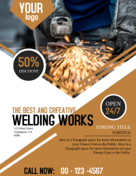 Welding Business Flyer Template