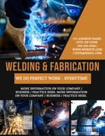 Welding Business or Company Flyer Template