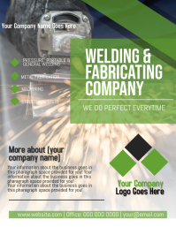 WELDING Company Flyer Template