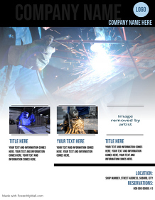 Welding Flyer Template