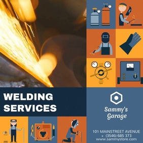 WELDING SERVICES FLYER