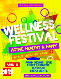 Graphic Design Portfolio: Women's Wellness Fair Event Flyer |Wellness Day Event Flyers