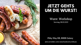 Werbe Banner Food Wust Workshop Kurs Special