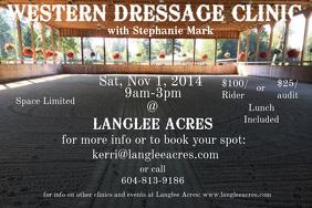 Western Dressage Clinic