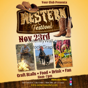 Western Festival Poster