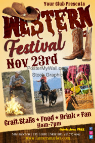Country Music Festival Posters