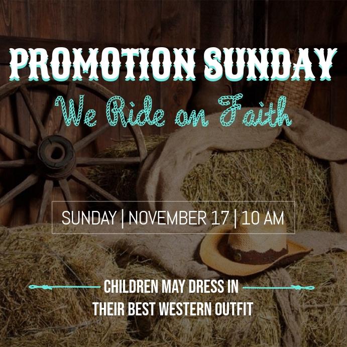 Western Promotion Sunday