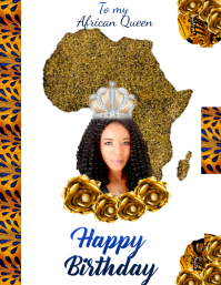 WH-Happy Birthday African Queen