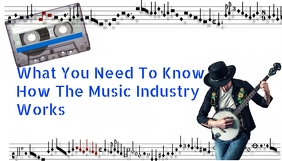 What To Know About Music Industry Blog Header template