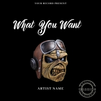 What You Want Musi Mixtape/Album Cover Art