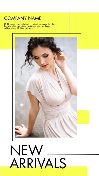 whatsapp and instagram status fashion adverti template