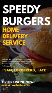 whatsapp status advertisement burger food del