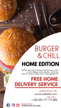 whatsapp status burger and chill home deliver