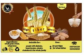 Wheat label Etiket template