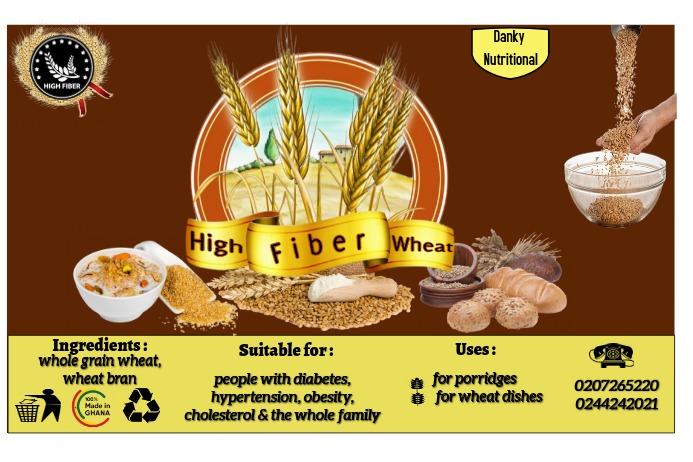 Wheat label Этикетка template
