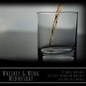 Whiskey & Wing Wednesday Video