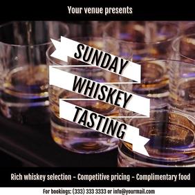 Whiskey tasting digital ad