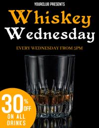 whiskey wednesday flyer