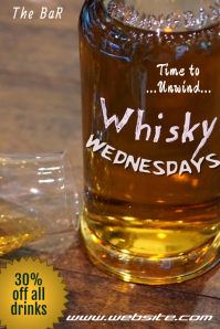 Whiskey Wednesdays Poster