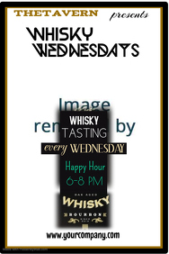 Whisky Wednesday Poster Template