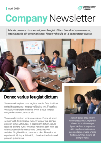 White and Green Company Newsletter