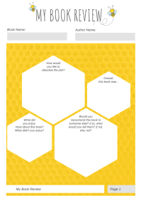 White and Yellow English Worksheet
