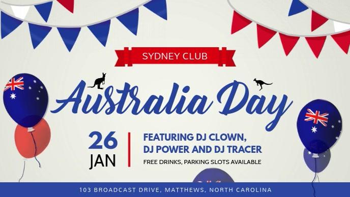 White Australia Day FB Cover Video