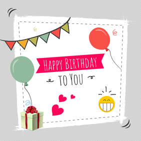 create free birthday posters in minutes postermywall
