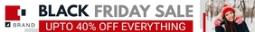 White Black Friday Etsy Banner template