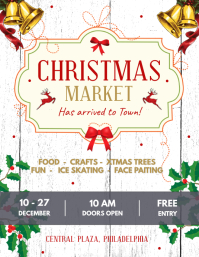 White Christmas Market Flyer