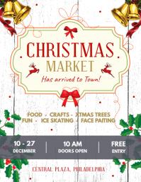 White Christmas Market Flyer