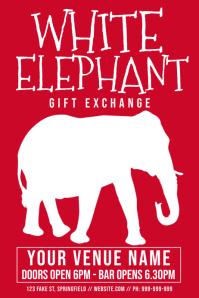White Elephant Poster