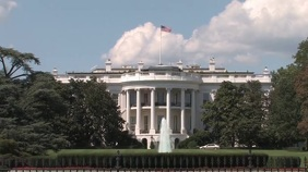White House Zoom Video Background