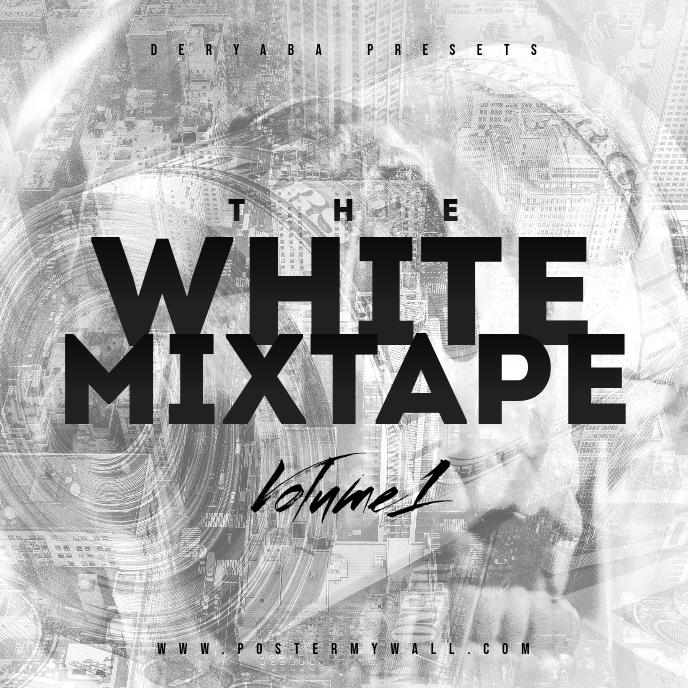 White Mixtape CD Cover
