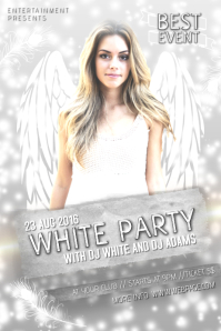 16 210 customizable design templates for white party postermywall