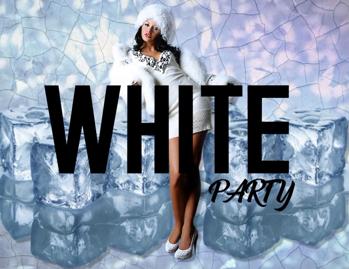 White Party Flyer